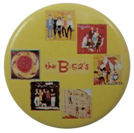 The B-52's - 'Albums' Button Badge